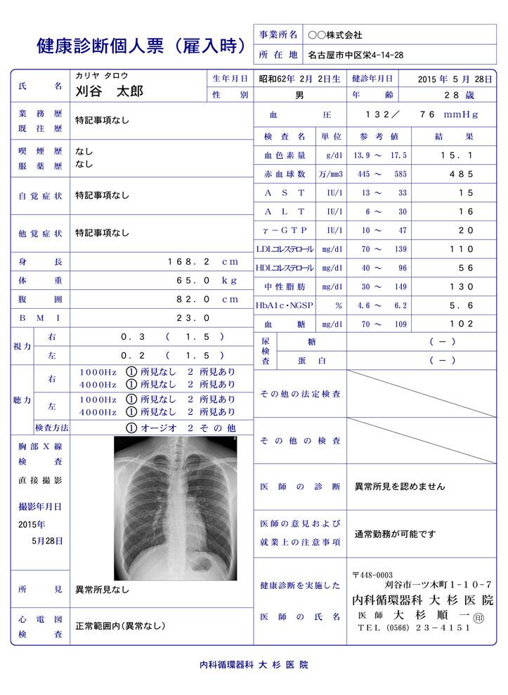 診断書 - 愛知県刈谷市の内科循...